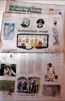 Rejet de la plainte contre les caricatures de Mahomet dans Lois et Institutions caricatures